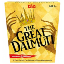 The Great Dalmuti: Dungeons & Dragons Deck Display (8 Decks)