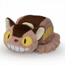 Ghibli - My Neighbor Totoro - Plush Beanbag Cat Bus 16cm
