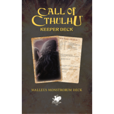 Call of Cthulhu RPG - The Malleus Monstrorum Keeper Deck
