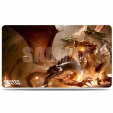 UP - Play Mat - The Rise of Tiamat - Dungeons & Dragons Cover Series