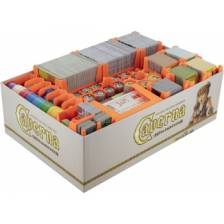 Feldherr organizer for Caverna: The Cave Builders - board game box