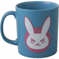 Overwatch D.VA Ceramic Mug - Blue/Pink