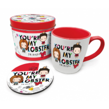 Pyramid Gift Tin - Friends Chibi You're My Lobster