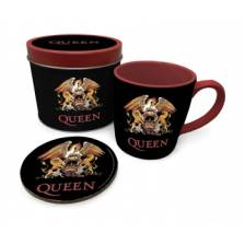 Pyramid Gift Tin - Queen (Colour Crest)