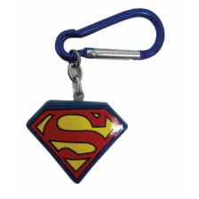 3D Polyresin Keychain - Superman (Logo)