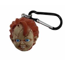 3D Polyresin Keychain - Chucky (Head)