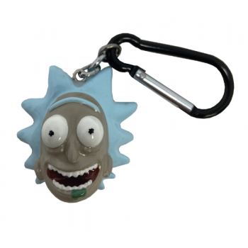 3D Polyresin Keychain - Rick and Morty (Rick)