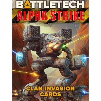 BattleTech AS Clan Invasion Cards