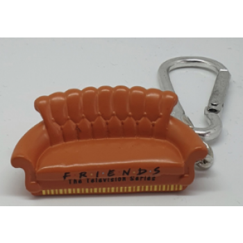 3D Polyresin Keychain - Friends (Sofa)