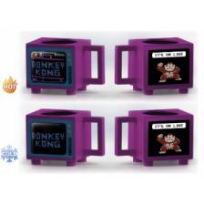 Retro TV Heat Change Mug - Donkey Kong (Retro TV)