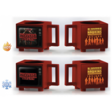 Retro TV Heat Change Mug - Stranger Things (I Survived Hawkins)