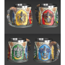 Polyresin Mug - Harry Potter (Hogwarts Houses)