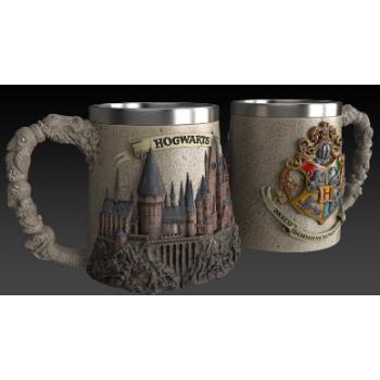 Polyresin Mug - Harry Potter (Hogwarts School)