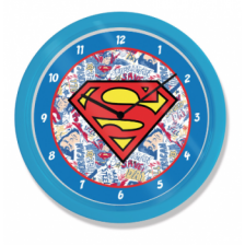 10? Clock - Superman (Logo)