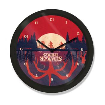 10? Clock - Stranger Things (Upside Down)