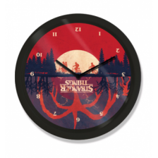 10? Clock - Stranger Things (Upside Down)