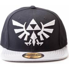 Zelda - Twilight Princess - Cap with Grey Triforce Logo