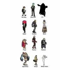 Umbrella Academy Blind Box Pins Display (15 blind boxes)