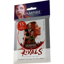 Vampire: The Masquerade Rivals Expandable Card Game Library Deck Sleeves (55 Sleeves)