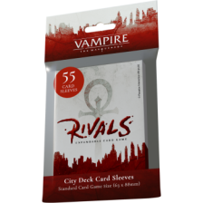 Vampire: The Masquerade Rivals Expandable Card Game City Deck Sleeves (55 Sleeves)