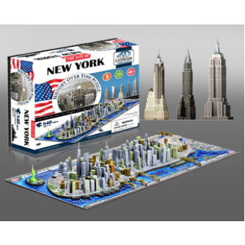 4D Cityscape - New York, USA Puzzle