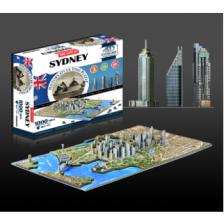 4D Cityscape - Sydney, Australia Puzzle