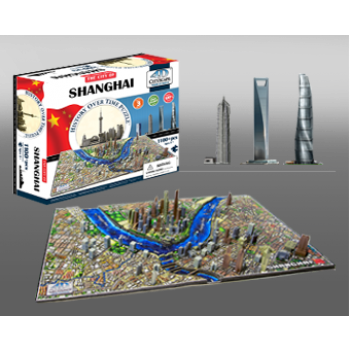4D Cityscape - Shanghai, China Puzzle