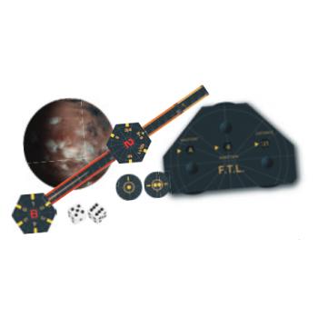 Battlestar Galactica Starship Battles - Faster Than Light Expansion