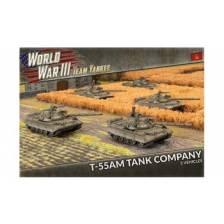 World War III Team Yankee - T-55AM Tank Company (x5 Plastic)
