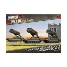 World War III Team Yankee - TOS-1 Rocket Launcher Battery (x3)