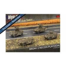 World War III Team Yankee - BRDM-2 Recon Platoon (x4 Plastic)