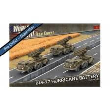 World War III Team Yankee - BM-27 Rocket Launcher Battery (x3)