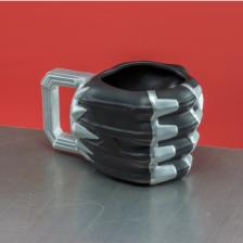 Black Panther Shaped Mug