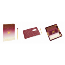 Funko Home & Gift Mickey Berry - Notebook & Pen: Berry Glitter