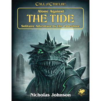 Call of Cthulhu RPG - Alone Against the Tide