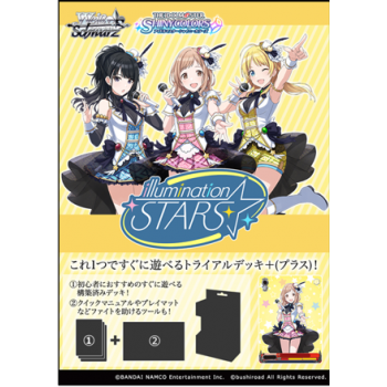 Wei? Schwarz - Trial Deck+ THE IDOLM@STER SHINY COLORS 283 Pro illumination STARS - JP