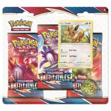Pokémon - Sword & Shield 5 Battle Styles 3-pack Blister Display (24 Blisters)