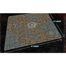 Alien Catacombs Gaming Mat 2x2
