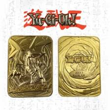 Yu-Gi-Oh! Limited Edition Gold Card Collectibles - Blue eyes white dragon