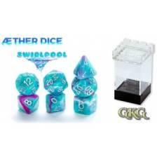 Aether Dice Swirlpool (7 Dice Set)