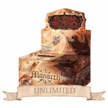 Flesh & Blood TCG - Monarch Unlimited Booster Display (24 Packs)