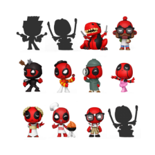 Funko Mystery Minis - Deadpool 30th (CDU of 12)