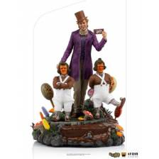 Willy Willy Wonka and the Chocolate Factory - Wonka Deluxe Art Scale 1/10