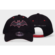 Warner - Batman - Black & Red - Curved Bill Cap