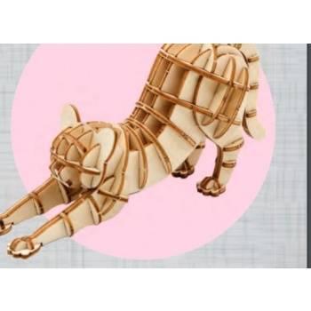 3D Holzpuzzle - Katze