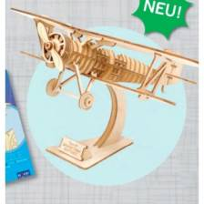3D Holzpuzzle - Doppeldecker