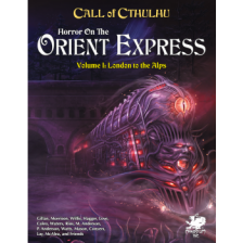 Call of Cthulhu RPG - Horror on the Orient Express