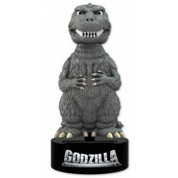 Godzilla - Classic Godzilla Body Knocker 15cm Solar Powered Bobble