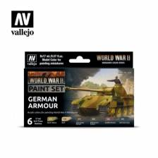 Vallejo WWII German Armour Paint Set