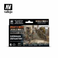 Vallejo WWII German Infantry Paint Set